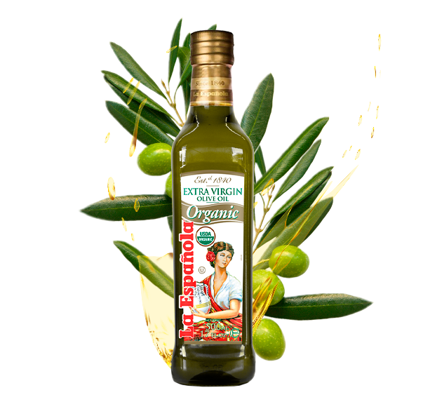 La Española Extra Virgin Olive Oil flavoured white truffle bottle